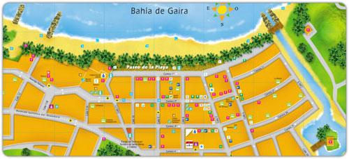 Mapa de Rodadero - Santa Marta